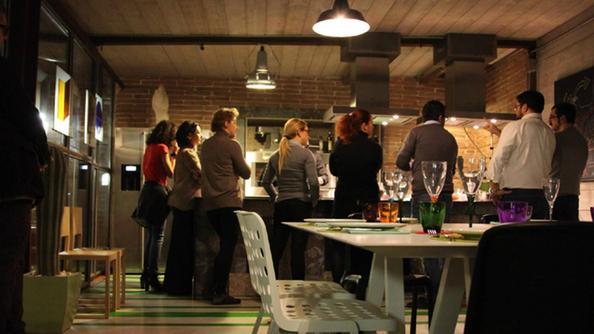 lofficina cucina che diventer anche una scuola al ristorante