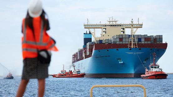 La portacontainers Maersk MC-Kinney Moller