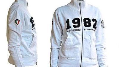 sale retailer d2c28 981f6 Polo, felpe e T-shirt: è arrivata la griffe «Università di ...