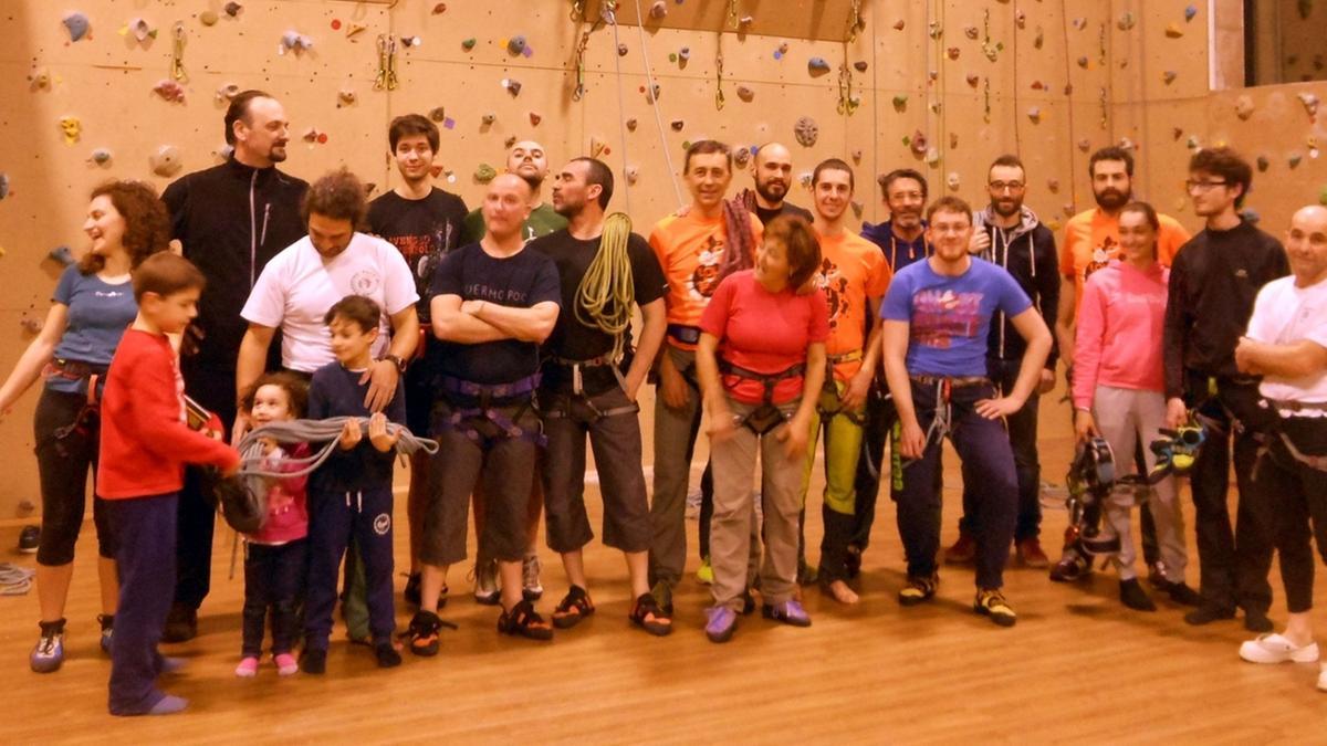 Muro di arrampicata di manerbio una palestra per sportivi - Palestra bagnolo mella ...
