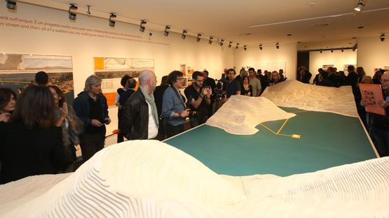 Grande interesse per la mostra «Christo and Jeanne-Claude Water Projects», curata da Germano Celant