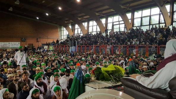L'intervento del predicatore islamico al palazzetto di via Nullo