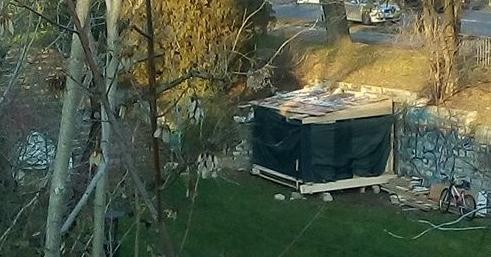 Via pusterla in citt spunta una baracca con vista - Spazio giardino ghedi ...