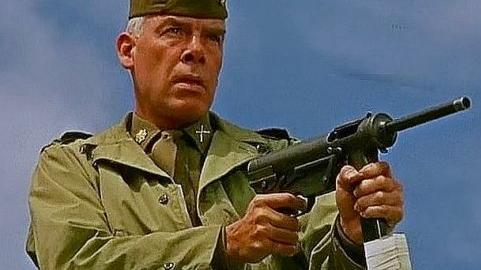 Lee Marvin in «Quella sporca dozzina»