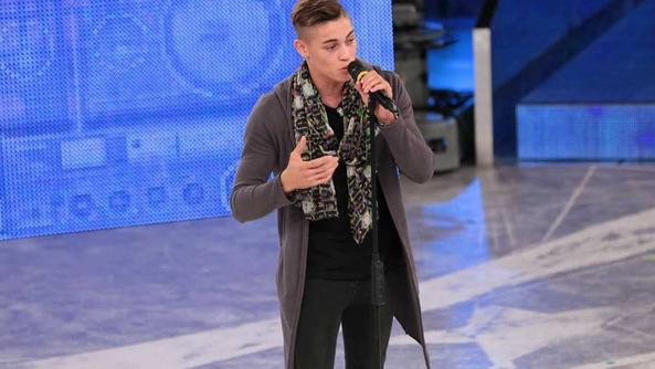 Einar Ortiz: 24 anni, cubano di Prevalle, ha interpretato «All of me»