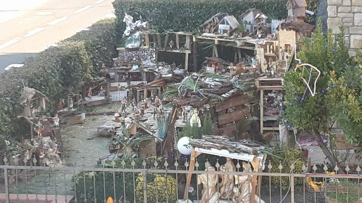 Nel paese dei super presepi c il giardino della nativit - Spazio giardino ghedi ...