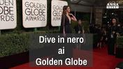 Dive in nero ai Golden Globe
