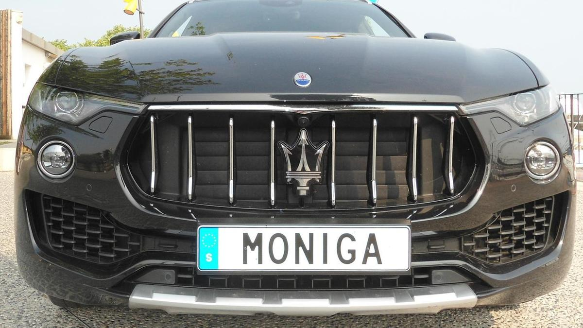 523b87dc21 La Maserati dello svedese ha una targa tutta speciale | Garda