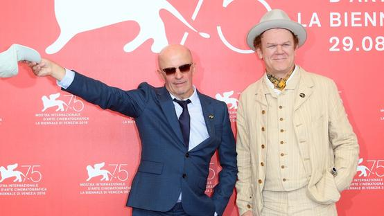 John C. Reilly e il regista Jacques Audiard