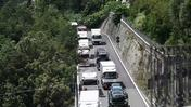 A Genova traffico in tilt, weekend da incubo