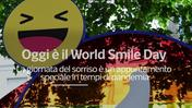 World Smile Day, quest'anno la faccina e' mascherata