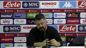 "Napoli, Gattuso: ""Partita difficile, l'importante e' essersi qualificati"""
